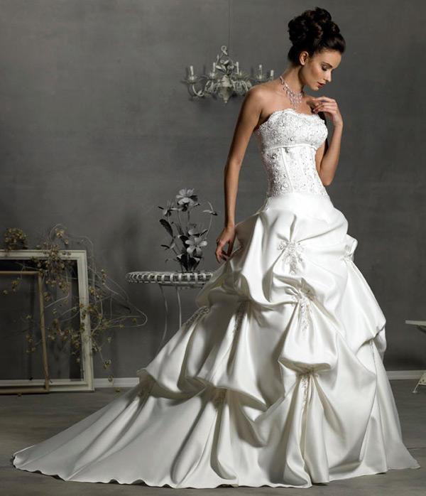 Белый платья свадьба фото
