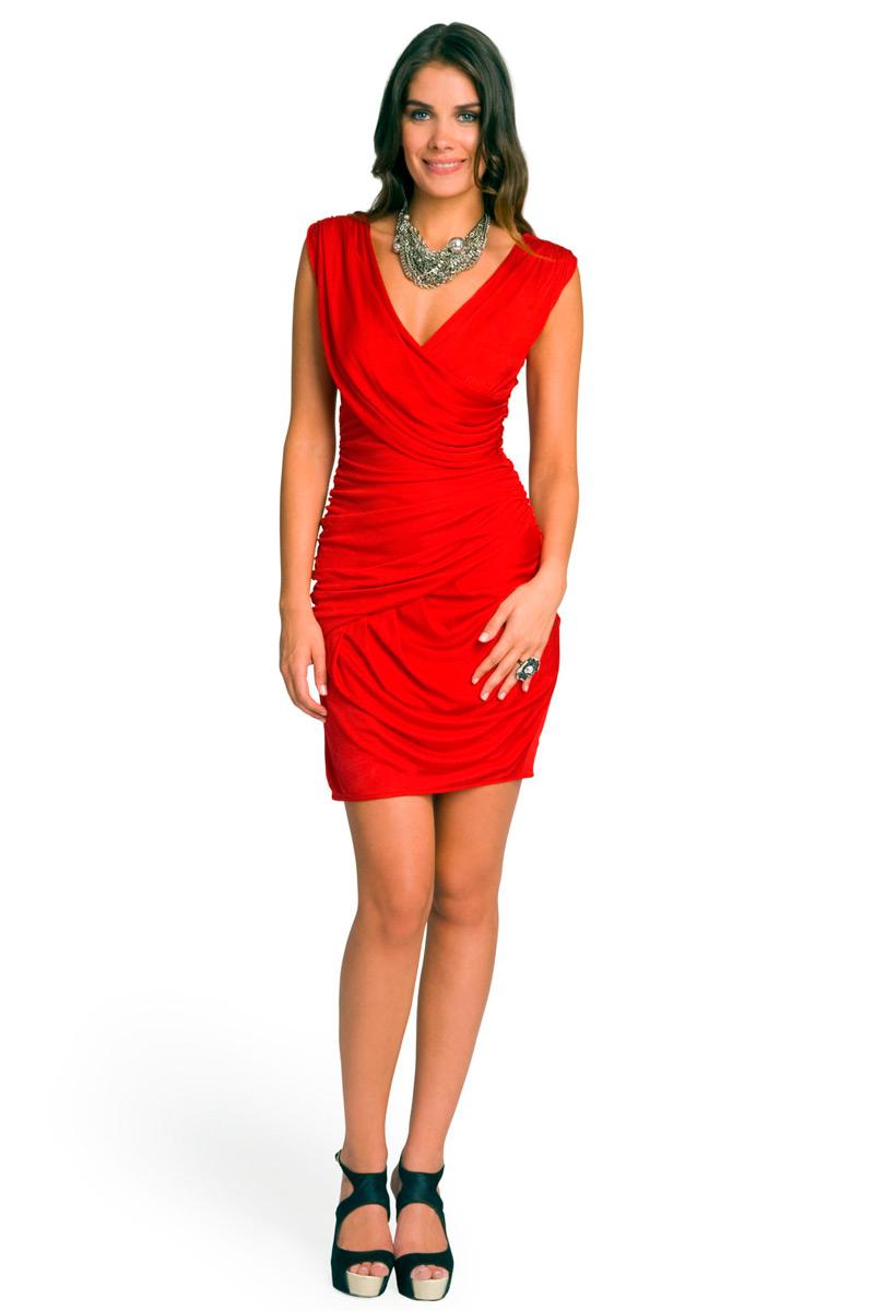 платья картинки красные