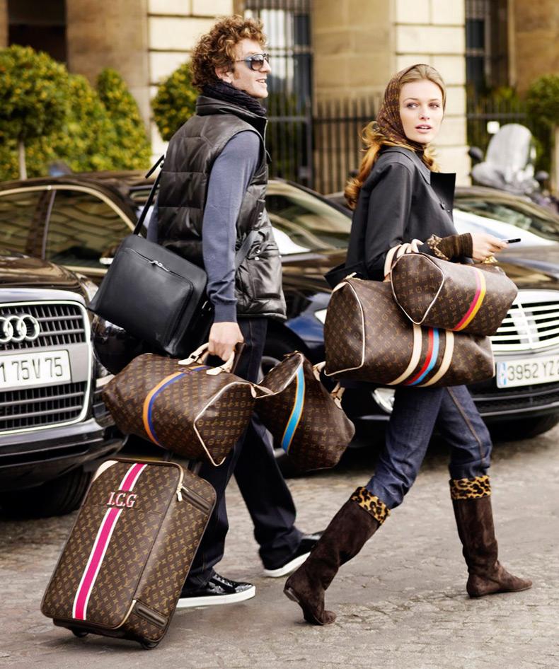 Дорожные сумки на колесиках, вместительные сумки Louis Vuitton