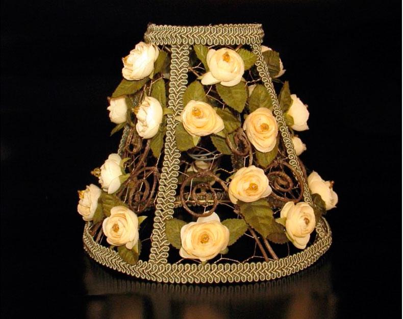 Цветы из ткани фото