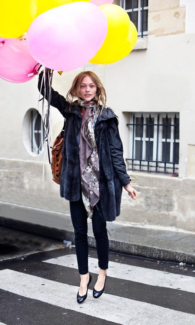 Саша Пивоварова фото с воздушными шариками