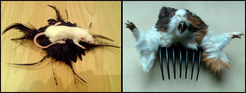 Готические украшения своими руками, гребень и украшение для волос
