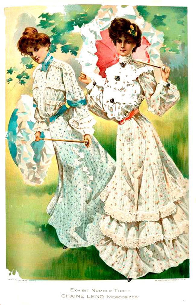 Винтажная мода две девушки фото
