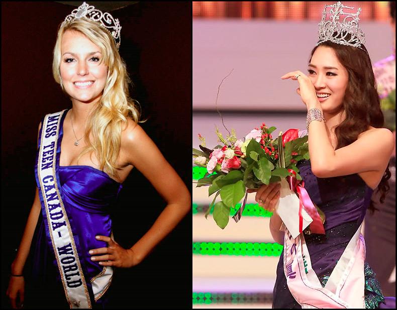 Участницы и победительницы конкурсов красоты, фото