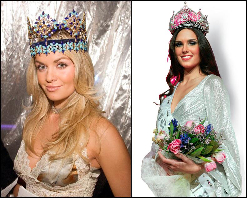 Королевы красоты в коронах, лучшие фото
