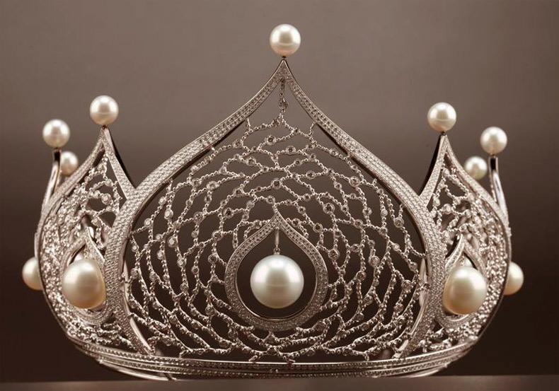 Корона для победительницы – королевы красоты, фото