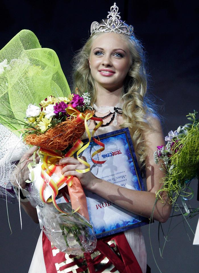 Красивая девушка – русская королева красоты, фото