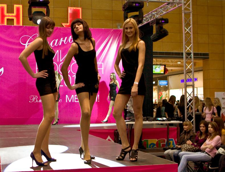 Россиянки на конкурсе красоты
