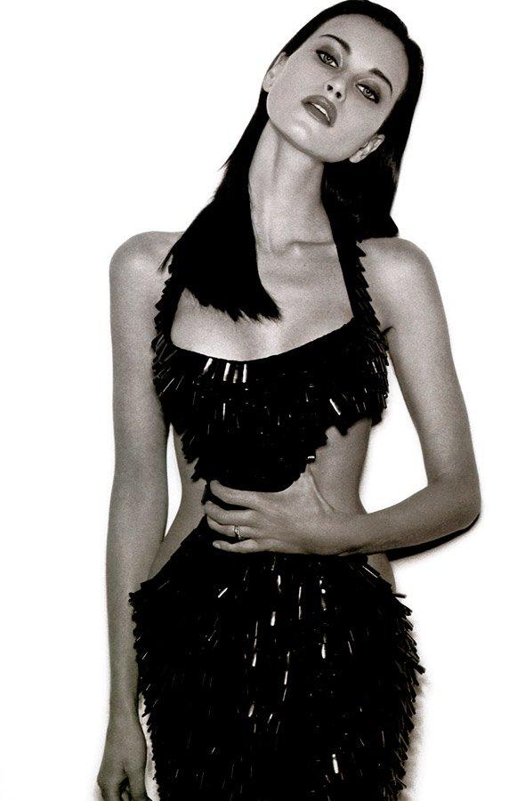 Российская топ-модель Наталья Семанова, фото