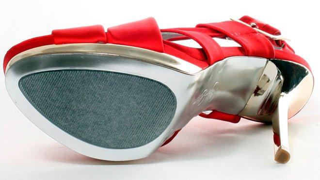 красные туфли босоножки, фото