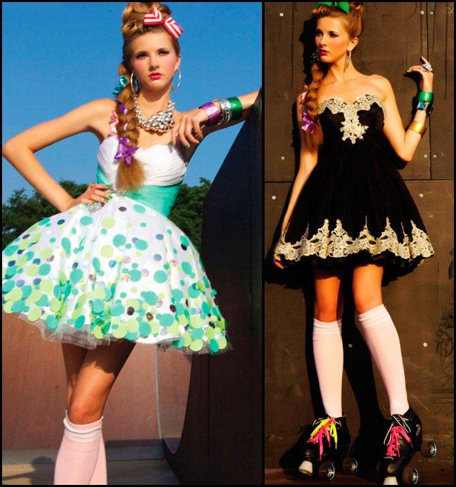 Платья в стиле Беби Долл фото