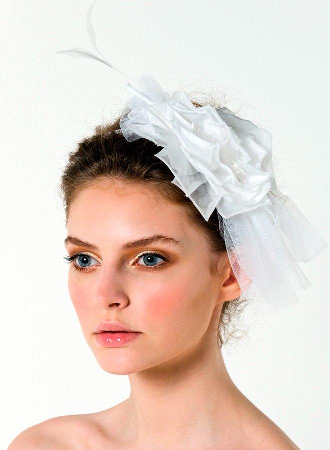 Свадебные цветы из ткани фото