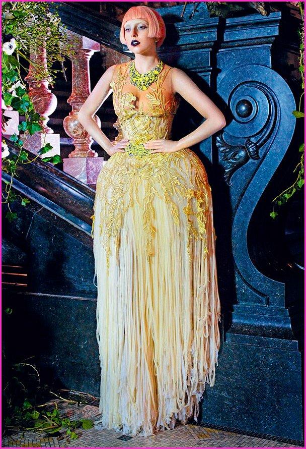 Оригинальное платье Леди Гага, фото певицы
