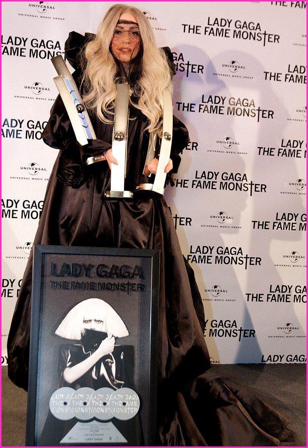 Леди Гага, фото, вручение награды