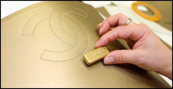 Изготовление сумочки Шанель