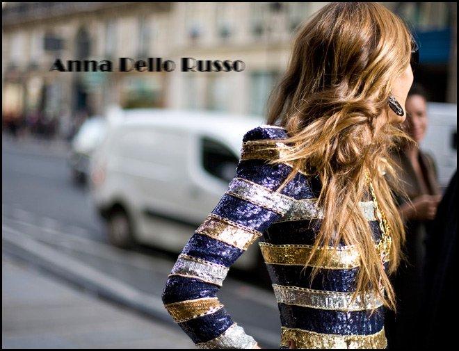 Анна Делло Руссо новые фото в Париже
