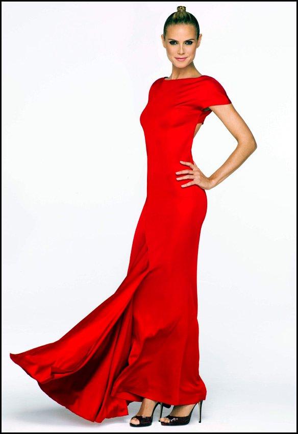Красивая и опасная топ-модель Хайди Клум