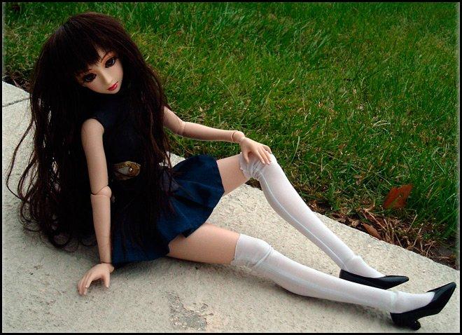 Как связать куклу спицами Своими руками 41