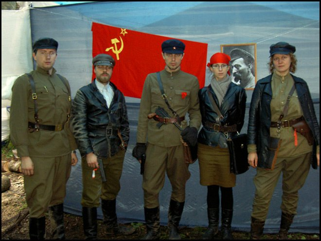 кожанка красных комиссаров