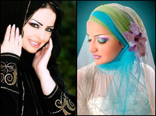 фото девушек в арабских одеждах