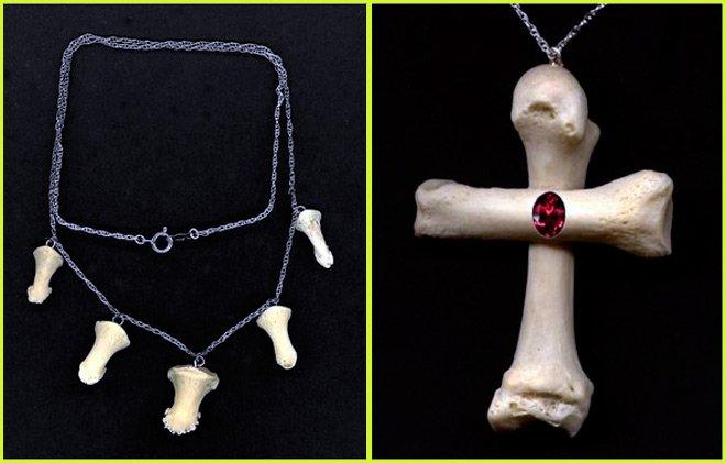 Украшения из кости, изделия из кости