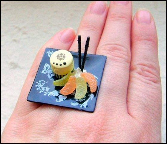 Бижутерия – японская тарелка фото