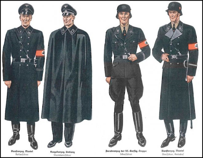 Военная форма Hugo Boss