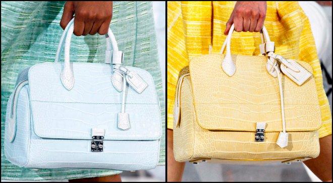 Девушка с сумкой, коллекция сумок Louis Vuitton