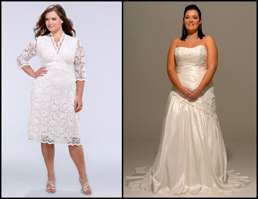 1d8e043f1bb0 Свадебные платья для полных невест