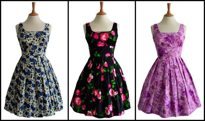 Винтажные платья из сундука