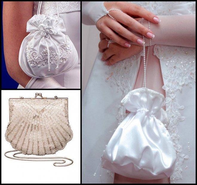 Выбираем свадебную сумочку, Свадебные сумочки