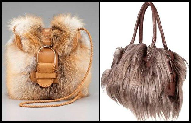 835381bb0b75 Меховые сумки, сумки из меха, сумки-муфты фото