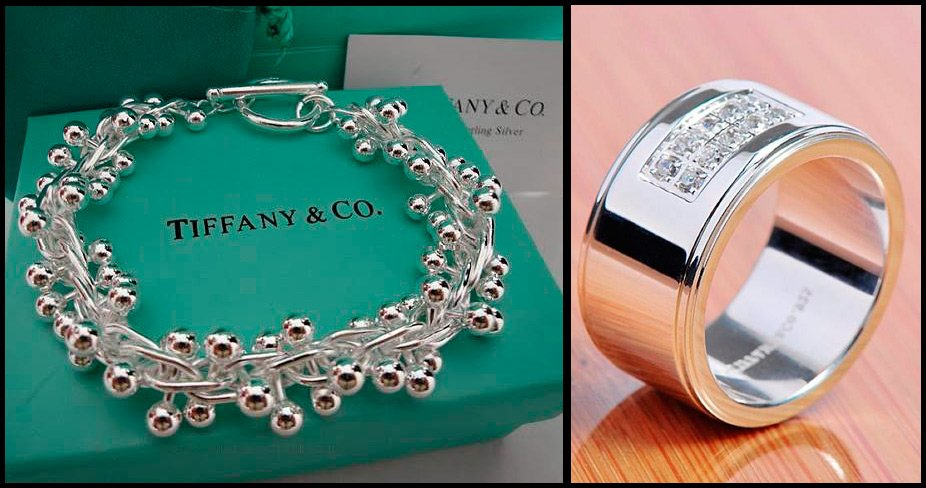 Ювелирные украшения Tiffany Co 69ffaf05a9c