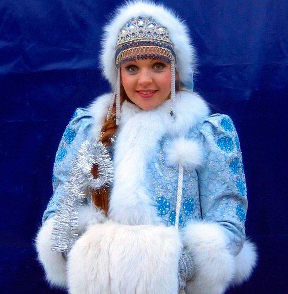Снегурочка костюм фото