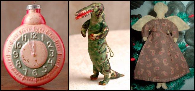 новогодние игрушки и украшение елки
