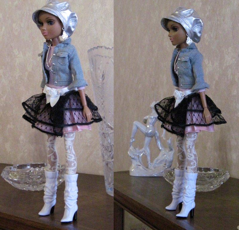 Женские платья для кукол