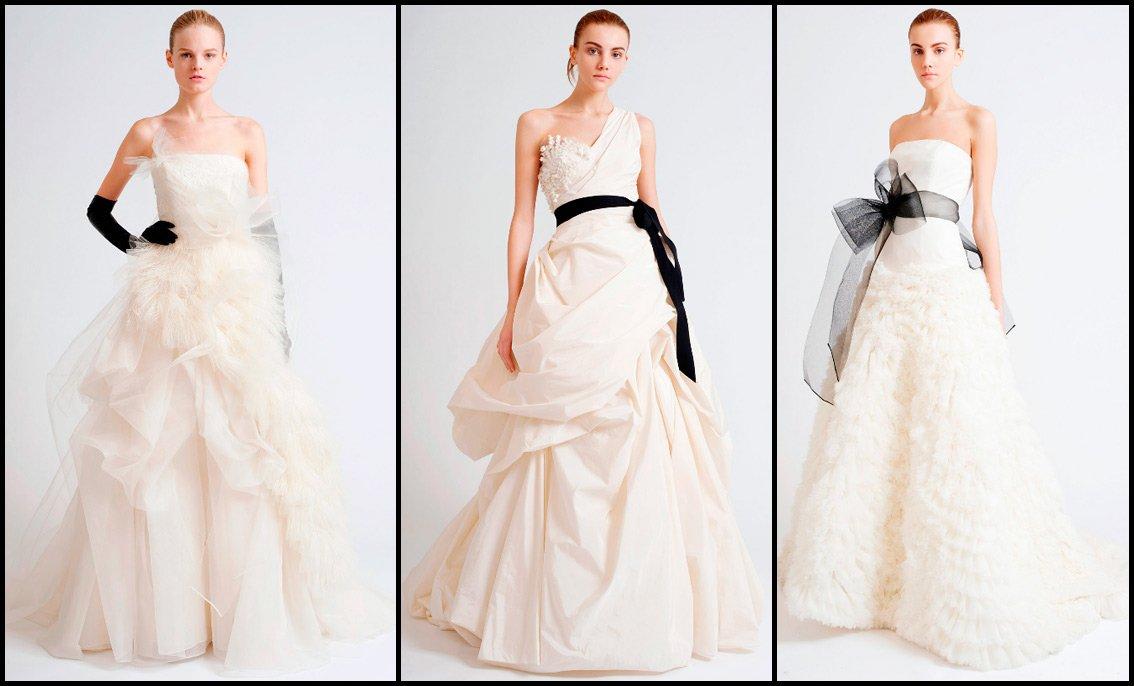 Фото свадебные платья vera wang