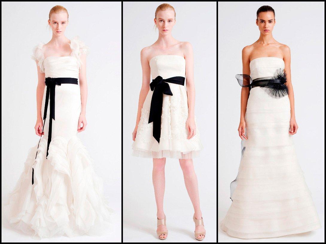 Вера вонг короткое свадебное платье
