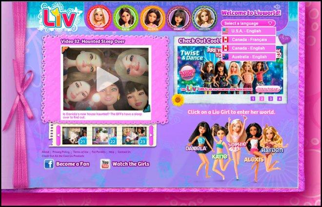 Куклы Liv для коллекции