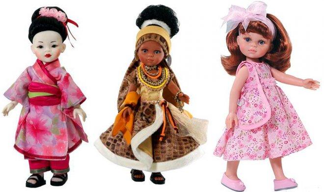 Куклы дети Паола Рейна
