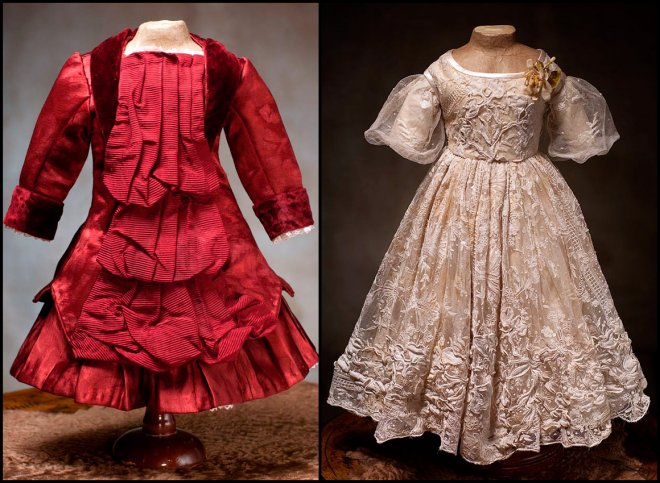 Платья для кукол Пандора