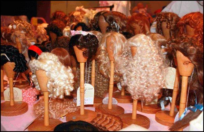 парики для кукол Пандора