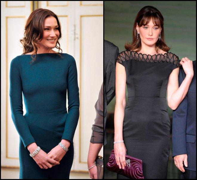 Первая Леди Франции и ее платья