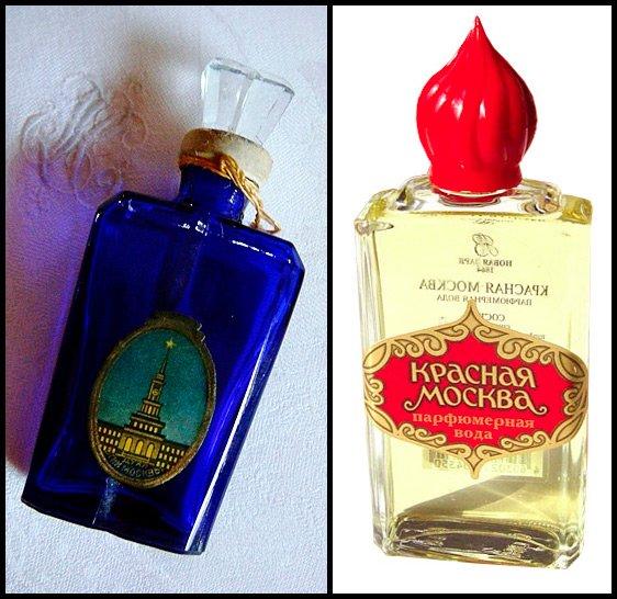 Советская парфюмерия Красная Москва