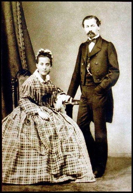 Генрих Брокар и Шарлотта