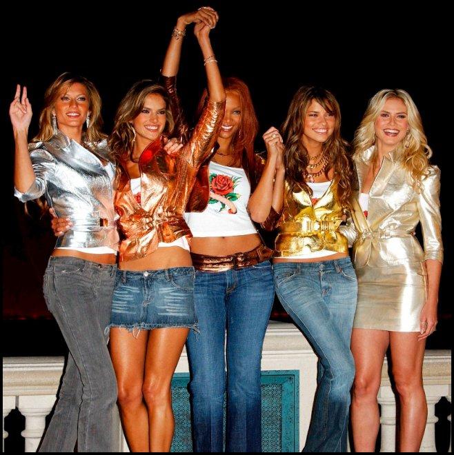 Ангелы и белье Victoria Secret