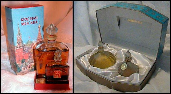 парфюмерия Духи Красная Москва