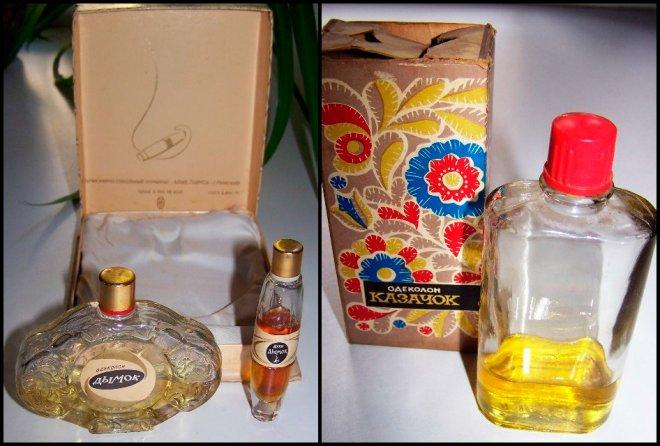 Советская парфюмерия одеколон