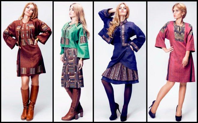 Дом русской одежды Весна-Лето 2012