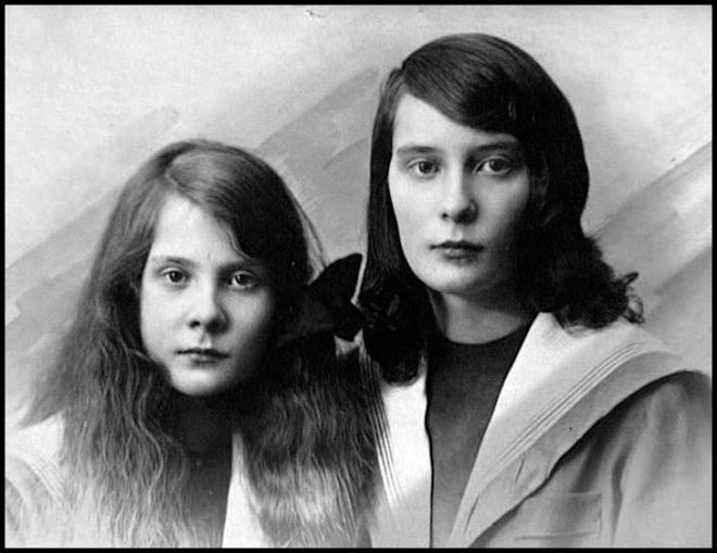 Натали Палей и сестра